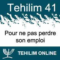 Tehilim 41
