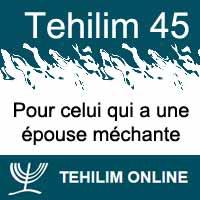 Tehilim 45